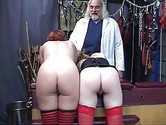 BDSM, Threesome, Blonde, Redhead