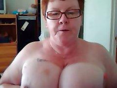Amateur, BBW, Big Boobs, Mature, Redhead