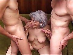 Anal, Granny, Mature, Saggy Tits