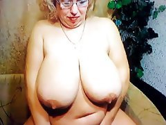 BBW, Big Boobs, Mature, Webcam