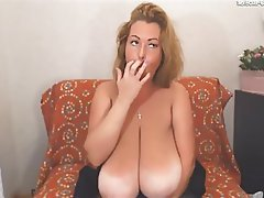 MILF, Saggy Tits, Webcam