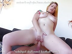 Femdom, Old and Young, Redhead, Threesome