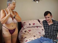 BBW, Granny, Mature, Old and Young, Chubby