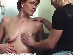 Blowjob, Mature, MILF, Old and Young, Redhead