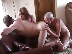 Mature, Threesome, Pussy
