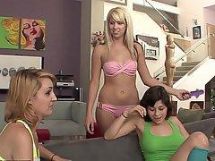 Cunnilingus, Cunnilingus, Lesbian, Lesbian, Teen, Cute
