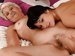 Hairy, Lesbian, Mature, Old and Young