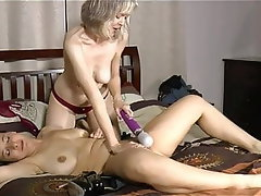 Hairy, Lesbian, Old and Young, Spanking