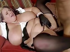 Chubby mature female tube