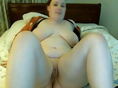 Amateur, BBW, Blonde, Masturbation, Webcam