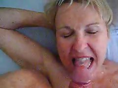 Blowjob, Cumshot, Mature, MILF, Old and Young
