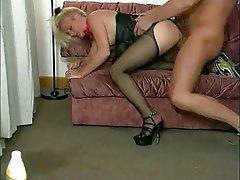 German, Foot Fetish, Pantyhose, Stockings