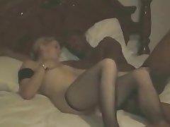 Amateur, Cuckold, Interracial, Stockings, Threesome