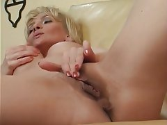 Blonde, Masturbation, Mature, MILF, POV
