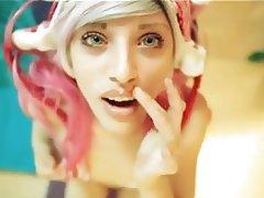 Amateur, Blonde, Blowjob, Close Up, Emo