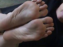 BDSM, Femdom, Foot Fetish, Granny