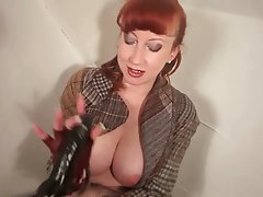 Mature, Masturbation, MILF, Redhead