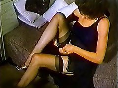 Brunette, Pantyhose, Softcore, Stockings, Vintage