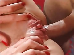 Brunette, Facial, Mature, Small Tits