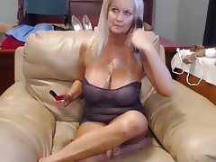 Big Boobs, Blonde, Mature, Webcam