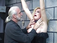 BDSM, Blonde, Latex, Mature